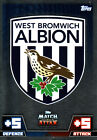 Match Attax 14/15 West Bromwich Albion & West ham Cards Pick From List