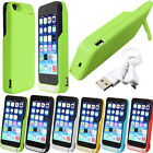 4200mAh External Portable Backup Battery Charger Power Bank Case For iPhone 5 5S