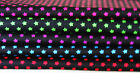 ASSORTED Cotton **Stars**     5  Vibrant Colours -  Half Metres ONLY £1.99