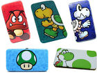 Nintendo: Super Mario Padded Hinged Purse/Clutch Bag New + Official Goomba/Yoshi