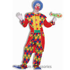 CL100 Clown Tuxedo Circus Carnival Birthday Halloween Fancy Party Costume