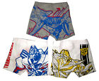 TRANSFORMERS BUMBLEBEE OPTIMUS 3 boxer briefs underwear set M-XXL 4-10y FreeShip