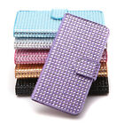 For 5.5'' iPhone 6S Plus LUXURY SLIM WALLET Bling Rhinestone Flip Case Cover Hot