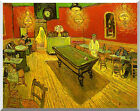 The Night Cafe Vincent van Gogh Stretched Painting Reproduction Canvas Art Print