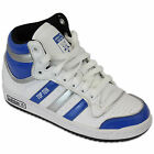 Kids ADIDAS Trainers Unisex Boys Girls Leather High Ankle Top Flat TOP TEN New