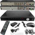 4 8 Channel Full D1 960H H.264 HDMI 1080P CCTV DVR Digital Video Recorder System