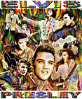 ELVIS PRESLEY TRIBUTE T-SHIRT OR PRINT BY ED SEEMAN