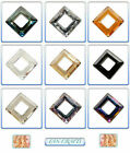 Swarovski Crystal Pendant 4439 Square 14mm & 20mm *Many Colours*