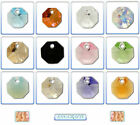 Swarovski Crystal Pendant 6401 Octagon 8mm & 12mm *Many Colours*
