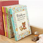Rilakkuma Diary Planner Scheduler Journal Agenda Organizer Cute Kawaii San-X