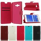 Flip PU Leather Wallet Case Cover Stand for Samsung Galaxy Core 2 Dual SIM G355H