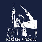 Keith Moon Drummer rock god The Who T Shirt My Generation Tommy BlackSheepShirts