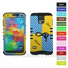 For Samsung Galaxy S5 Love Forever Design Hybrid Rugged Impact Phone Case Cover