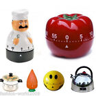 Multi-Shapes 60 Minute Mechanical Kitchen Timer Alarm Bell Cooking Baking Tool