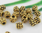 wholesale 188/630Pcs Gold Plated Spacer Beads 4mm (Lead-Free)