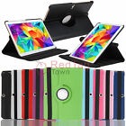 PU Leather Rotating Smart Case Cover For Samsung Galaxy Tab S 10.5 SM-T800/T805