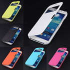 Magnetic Flip Hard Cover PU Leather Smart Case Pouch For Samsung Galaxy S4 I9500