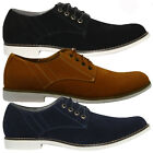 MENS FAUX SUEDE LACE UP CASUAL FORMAL DESERT CHELSEA BOOTS TRAINERS SHOES SIZE