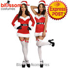K31 Santa Claus Christmas Helper Fancy Dress Up Costume Xmas Party Outfit & Hat