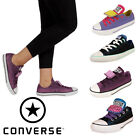 Converse Chuck Taylor All Star Double Tongue Ox Girls Kids Junior Trainers Sizes