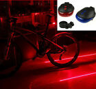 5 LED Red Beam Rear laser tail lights Safety warning Lamp for Bicycle Bike cycle