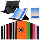360 Rotating PU Leather Smart Case Cover+Screen Film for Apple iPad Air 2 (2014)