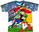 BEN 10 ULTIMATE ALIEN RATH BIG CHILL boys t-shirt Size4,6,8,10 Age 3-9y FreeShip