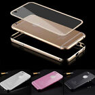 Aluminum Ultra-thin Metal Case Clear Back Cover Skin for Apple iPhone 6 6+ Plus
