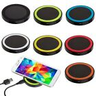 QI Wireless Charging Charger Pad For Samsung HTC LG Nokia Mobile Cell Phone US