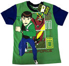 BEN 10 ALIEN FORCE Boys cotton summer t-shirt Size S-XL Age 4-8 yrs Free Ship