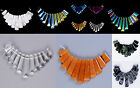 Gemstone 11pcs graduated pendant loose beads set for necklace jewelry design