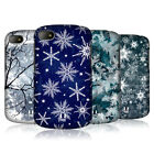 HEAD CASE WINTER PRINTS SNAP-ON BACK COVER FOR BLACKBERRY Q10