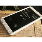 Bling Diamond Full View Flip Leather Cover Case For Samsung Galaxy Note 4 N9100