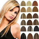 "ANY color 15""18""20""22"" 100% Remy Real clip in human hair extensions Wholesale"