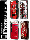 Coca Cola Classic Retro iPhone 6 7 8 Plus X XS HARD PLASTIC Case Phone Logo Vtg $9.09  on eBay