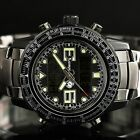 New Luxury INFANTRY Mens LCD Digital Sport Army Stainless Steel Wrist Watch Gift