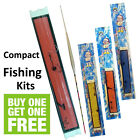 Survival Fishing Compact Emergency Starter Travel Kit Hand Line Floats Bushcraft