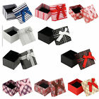 4Pcs Jewellery Case Bangle Necklace Bracelet Ring Earring Gift Box Jewelry Boxes
