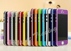For iPhone 4 4S 5 5S Skin Carbon Full Body Wrap Cover Sticker Decal Protector