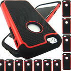 Rubber Armor Hybrid Best Impact Hard Case Cover For Apple iPhone 6 / 6 Plus new