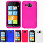 For HTC Titan II 2 AT&T Colorful Soft Silicone Gel Skin Case Cover Accessory