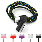 Strong Braided Usb Data Sync Charger Cable Lead For iPhone 4 4S 3Gs iPad
