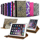 Colorful Degree Rotating Smart Leather Swivel Stand Case For Apple iPad Air 2