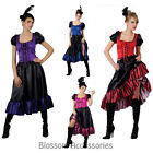 J10 Spanish Mexican Flamenco Senorita Dancer Can Can Saloon Fancy Dress Costume