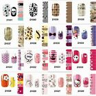 Hot Sale Nail Art Stickers Wraps Adhesive Polish Foils DIY Decoration Decals