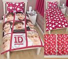 Official One Direction 'BOYFRIEND' Single Duvet Cover Set or Curtains 1D Bedding