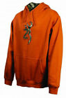 Men's Browning Buckmark Camo Sweatshirt Texas Orange Hoodie Hoody