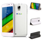 "New IRULU Smartphone U1S 5"" Quad Core Android 4.4 Kitkat Unlocked w/ Case"