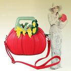 new fashion pumpkin unique shape shoulder handbag/purse bag case