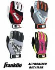 Franklin 2nd-Skinz Baseball/Softball Batting Gloves Red,Blue,Black Camo,Pink